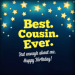 Happy Birthday Cousin wishes and Quotes