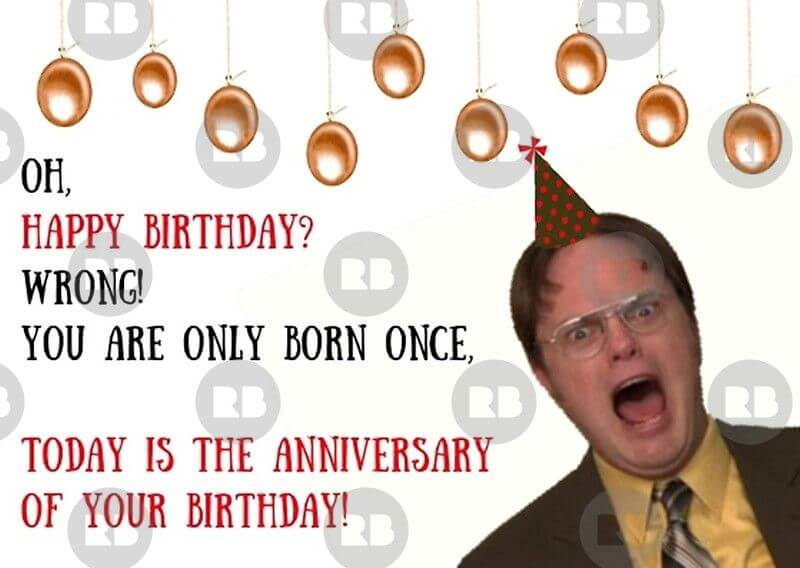 It Is Your Birthday The Office