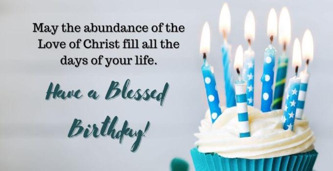 Blessing Prayer Birthday Wishes