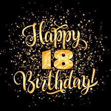 Happy 18th Birthday Images