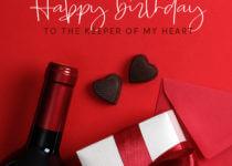 Happy Birthday To My Husband Letter